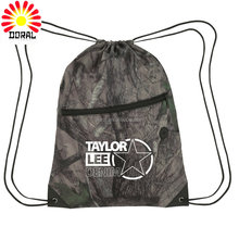 Custom printed drawstring shoe bags, wholesale drawstring backpack
