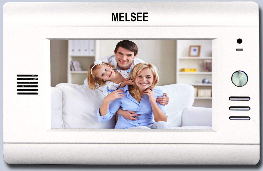 Factory cheap price video door phone 4 wire door phone video intercom villa home security system