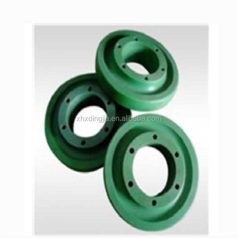 MC nylon green nylon sleeve flange connection