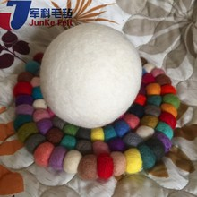 Hot dry wool ball Dryer white wool ball Organic dryer balls