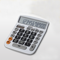 Wholesale Stocked Small Order Office Supplies 12 Digits Solar Power Calculator