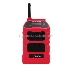 Portable Audio CJR102 jobsite radio 18V bluetooth radio for Industrial zone