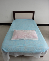 disposable elastic fitted massage table facial bed cover sheet