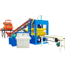 building construction material QT4-15 concrete paver bricks machine/cement brick making machine in india