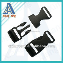 New Plastic Curved Side Release Buckles Webbing Straps