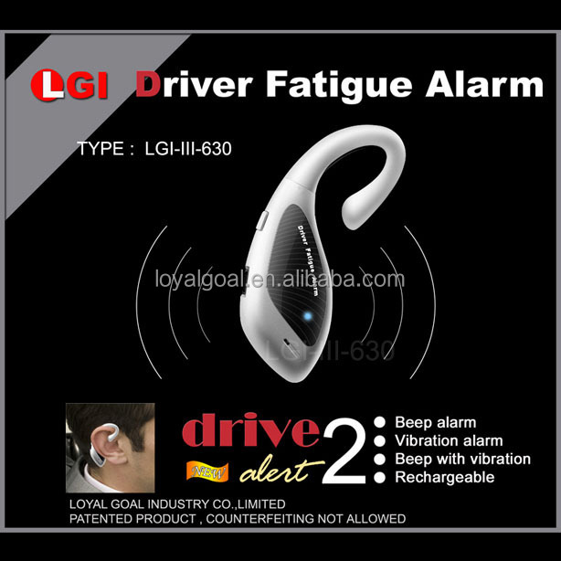 3in1 multi-functions nap alarm no mercury driver anti sleep alarm fatigue alarm
