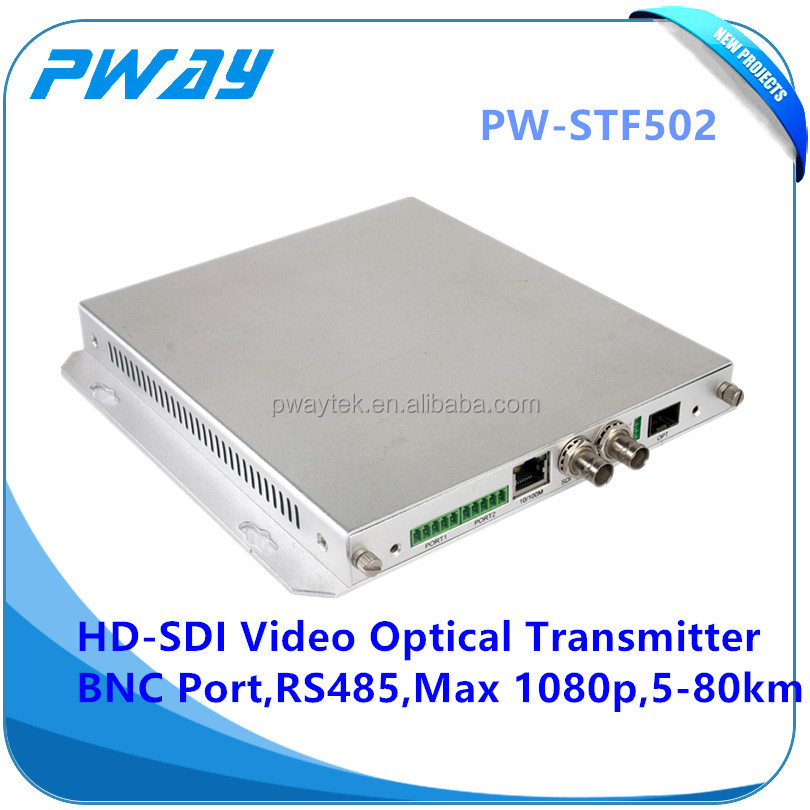 Stable Quality bnc to fiber video converter