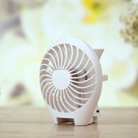 Creative Handheld Standing Rechargeable Electronic Cooling Fan