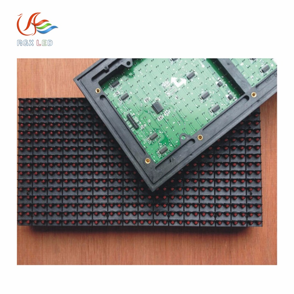 Wholesale High Brightness <strong>P10</strong> Outdoor Single Color Led Display <strong>Module</strong>