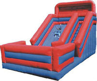 inflatable slides/castles, large land air toys, household jump bed, slide