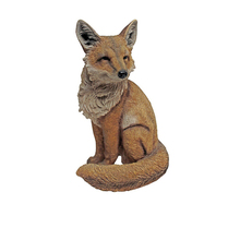 Bushy the Fox Yard Decoration Statue. Animal Products & Gifts
