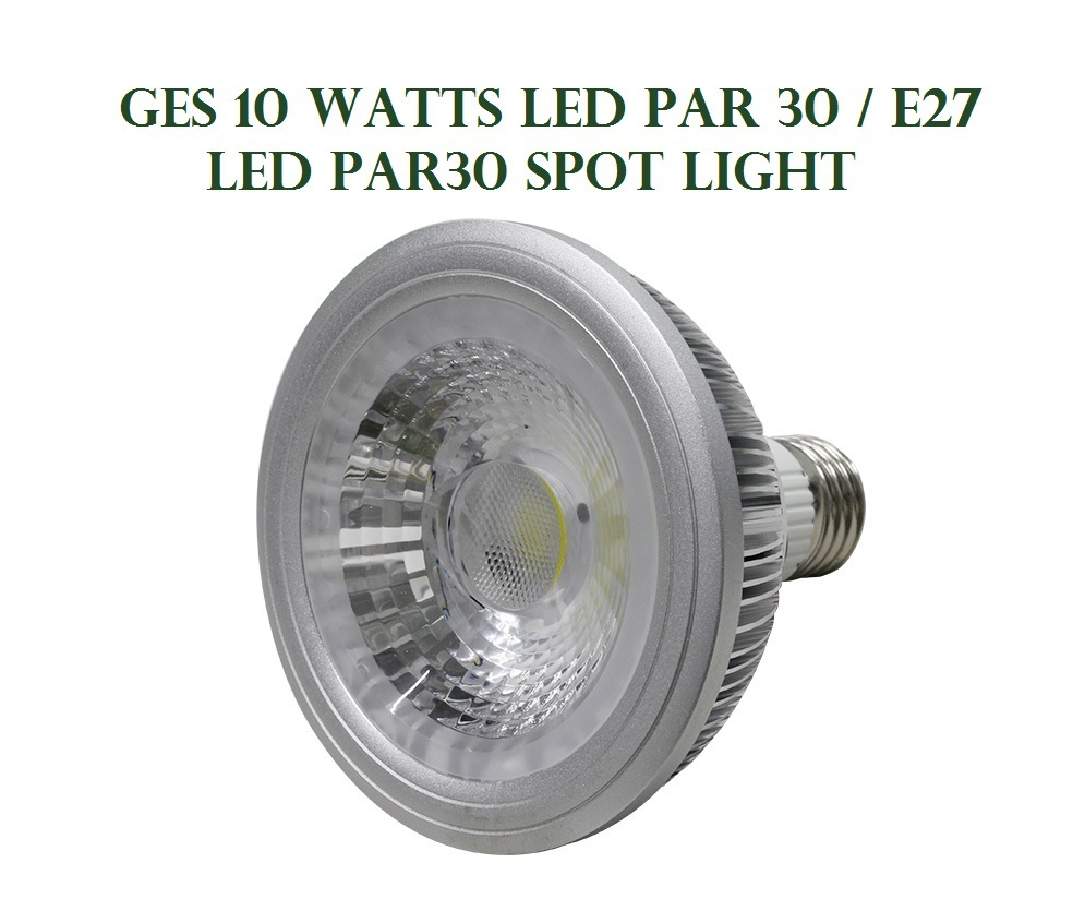 GES LED PAR30 Light 10 watts Spot Light