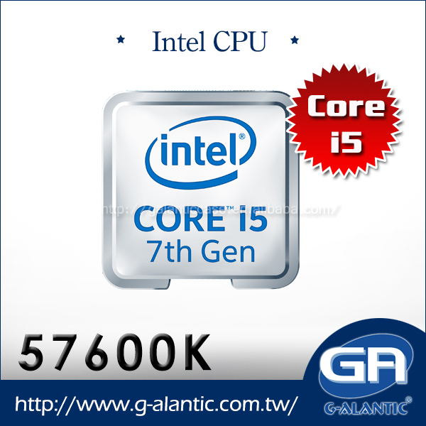 57600K - Intel i5-7600K of i5 desktop computer cpu i5 1151 socket