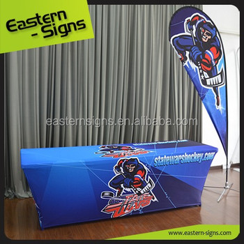 8ft Front-only Dye-sub Ultra Fit Table Cover