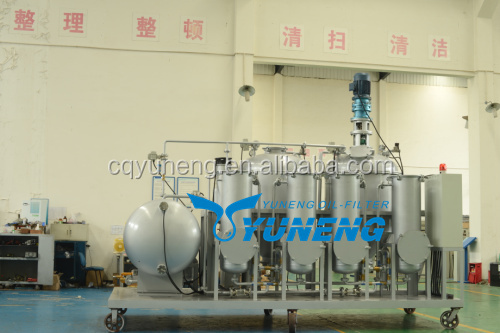 Waste Tire Recycling to Diesel Oil Plant