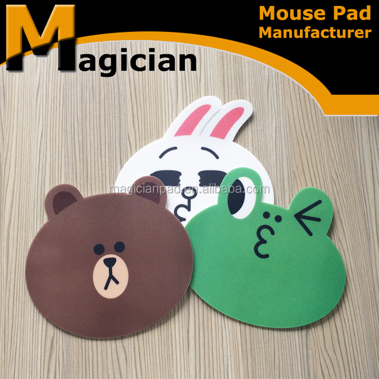 Customized Shape Mouse Pad For Promotion