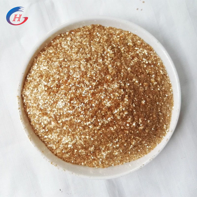Scrap Golden Color Mica Powder Price