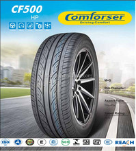 Comforser brand Passenger tyres new car tires cheap performance tire
