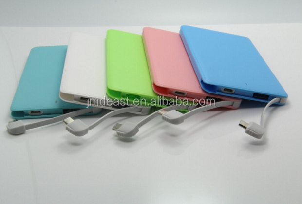 Hot Promotional Gift credit card power bank 2500mah