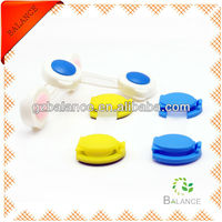 high safe plastic push button drawer cabinet lock