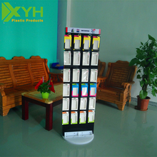 Custom Rotating and Detachable Mobile Phone Accessories Display Stand