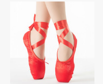 fashion ballet shoes wholesale high quality pointe ballet shoes