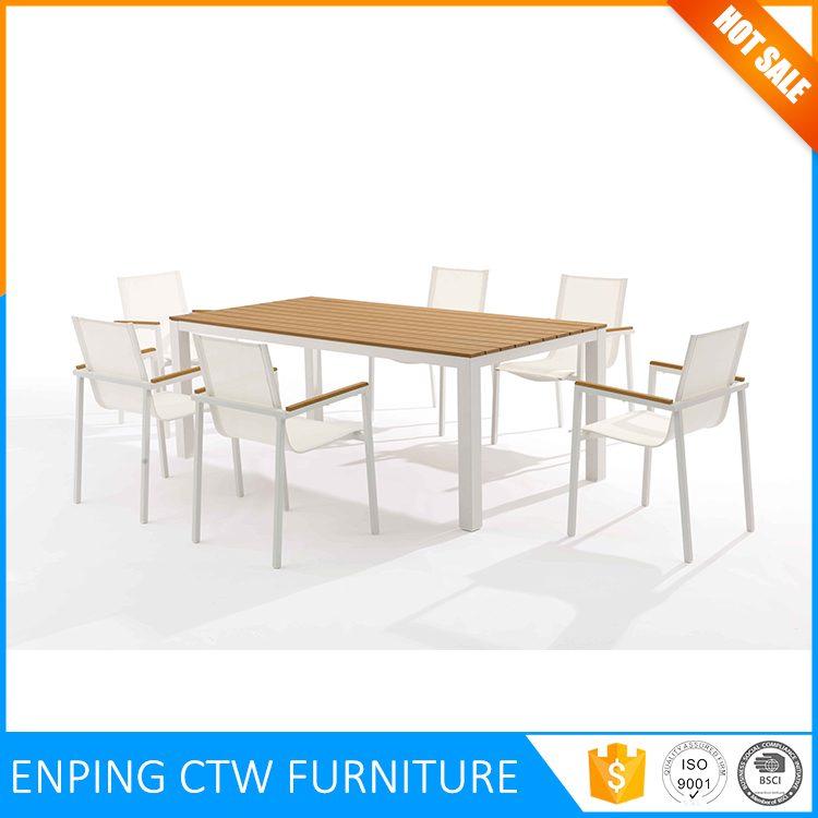 Factory Bottom Price Glass Dining Table 6 Chairs Set