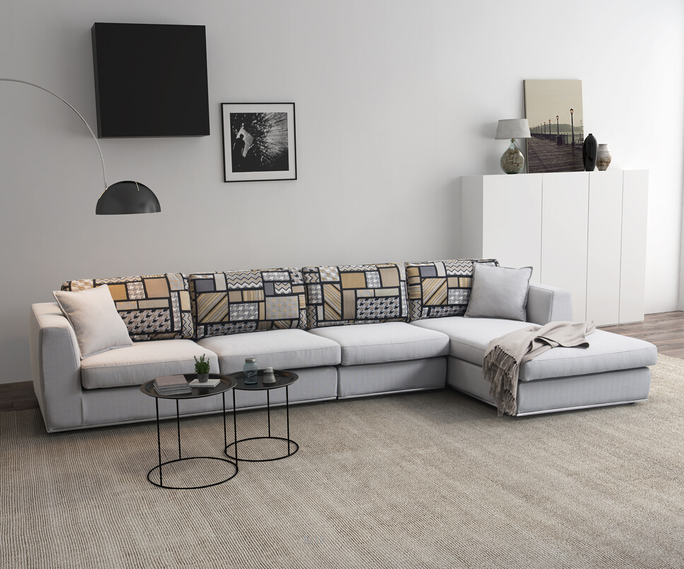Modern Top Grade High Quality Fabric Floor Sofa Drawing Room Sofa Set Design Moroccan Sofa