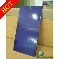 Blue Wrinkle Pearl Powder Coating Paint