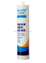 One-component High Temperature electronic grade Black RTV Silicone Rubber Bonding Adhesive Sealant Potting Liquid Glue