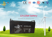China manufacturer 12V 120ah solar battery rechargeable exide ups battery for inverter/ ups/wind /solar system