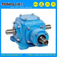T series Spiral Bevel Gearbox (Ratio 1~3)