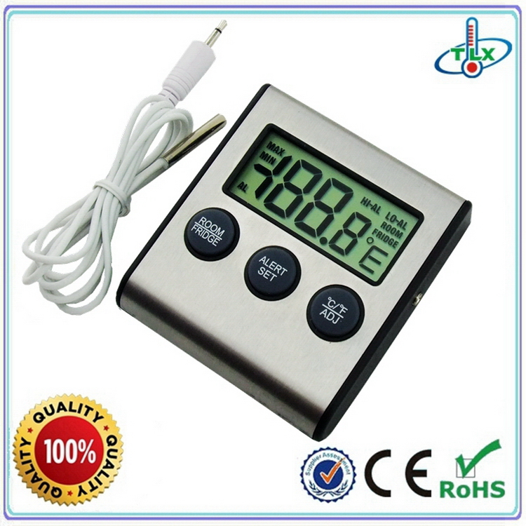 Fashion hot sale high precise digital fridge thermometer