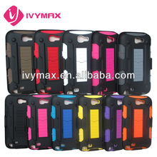 Robot holster combo case for samsung galaxy note 2 N7100