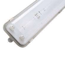 China supplier 600mm 1x18w IP65 GRP light housing for PC cover waterproof lighting fixture for T8 tube
