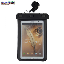 Free Sample Professional Supply Waterproof Touch Screen For Ipad mini, PVC waterproof bag for mini tablet