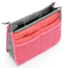 Woman make up branded cosmetic pouch bag