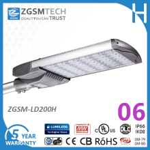200W Post Mount Site LED Roadway and Area Luminaire