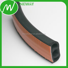 aluminium profile to rubber seal strip gasket for windows