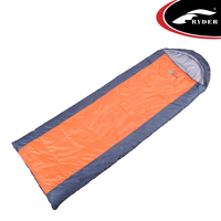 Envelope Cheap Sleeping Bags with Ridge hood Wholesale Sleeping Bags