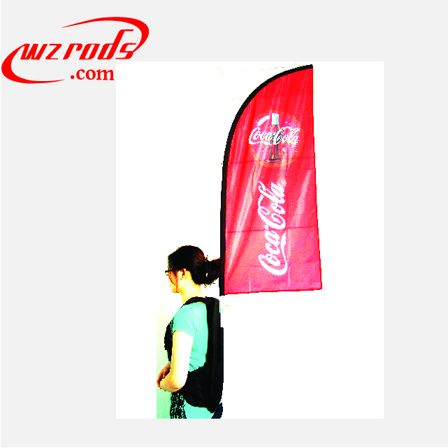 Advertising Backpack Feather Beach H X banner