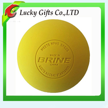 NCAA Point Massage Rubber Custom Lacrosse Ball