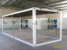 Flat-packed 20feet shipping container frame / house frame for sale