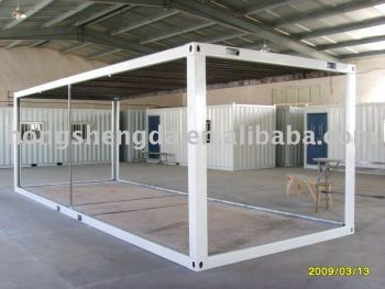 Flat Packed 20feet Shipping Container Frame House Frame