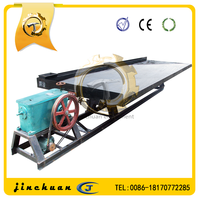 vibrating shaking machine 6-s gold shaking table with iso & ce certificate