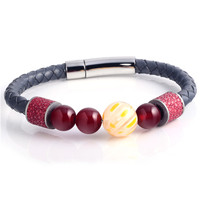 Fashion Accessories Wholesale Leather Bracelets For