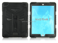 Strong kickstand build in full screen protector case for iPad air 2 and iPad pro 9.7