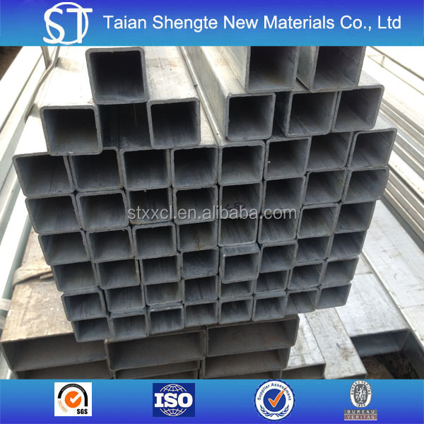 GB/T 6728 galvanized square steel pipe
