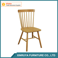 Manufacturer Directly Supply New Beech Wood Design Dining Chair/Windsor Solid Wood Chair from China