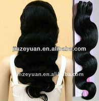 fashionable silk top glueless stock virgin brazilian human hair wig black hair mesh picture